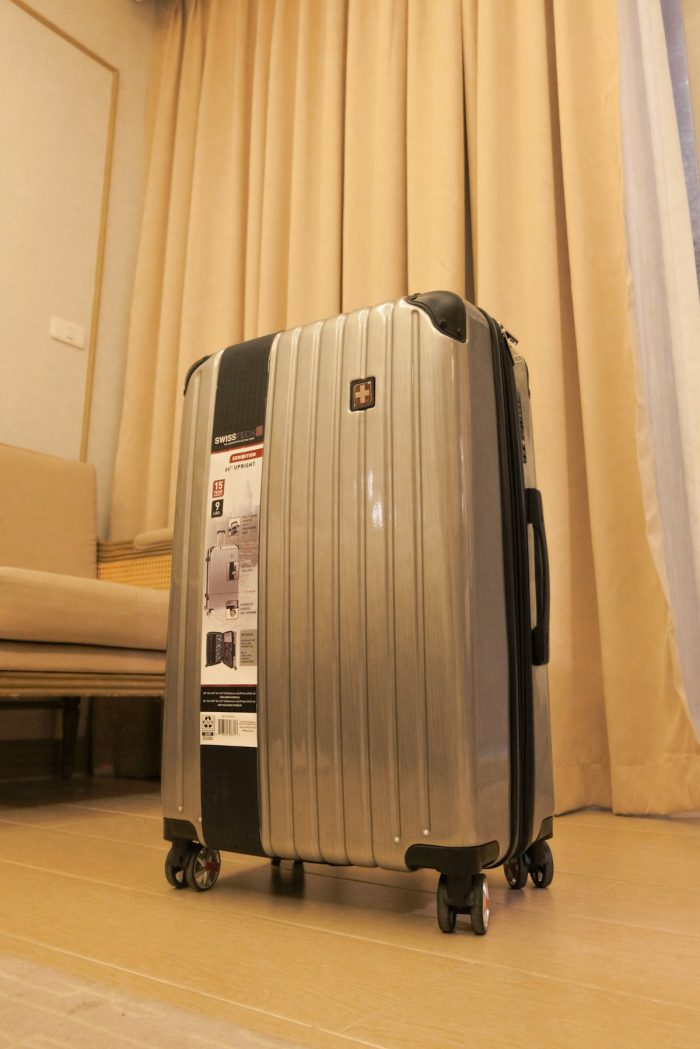 Exhibition Luggage Collection by SwissTech