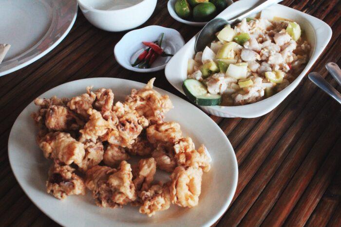 Melkens Seafood Restaurant Menu