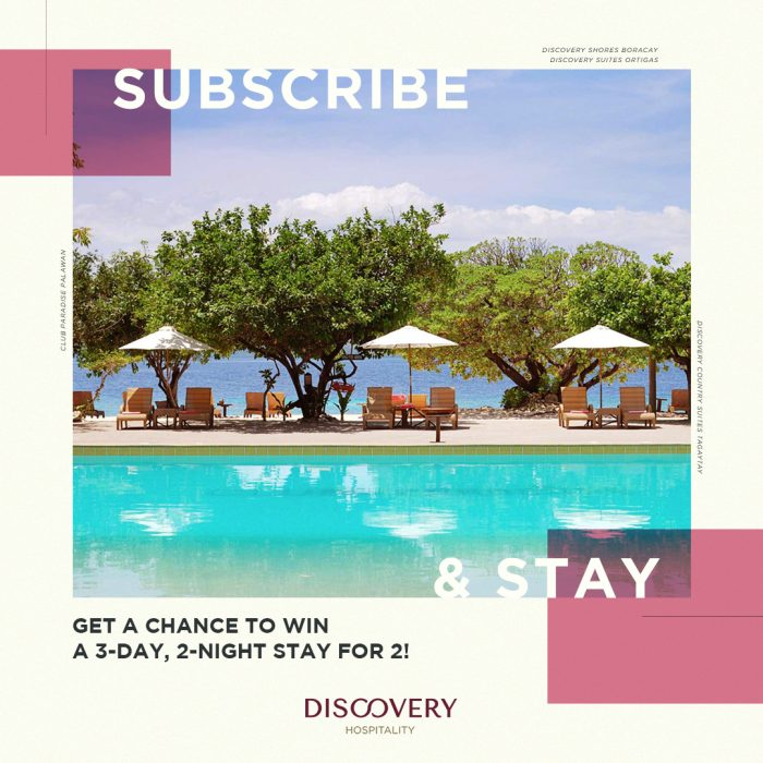 Sign up to win the getaway of your dreams at Discovery Hospitality