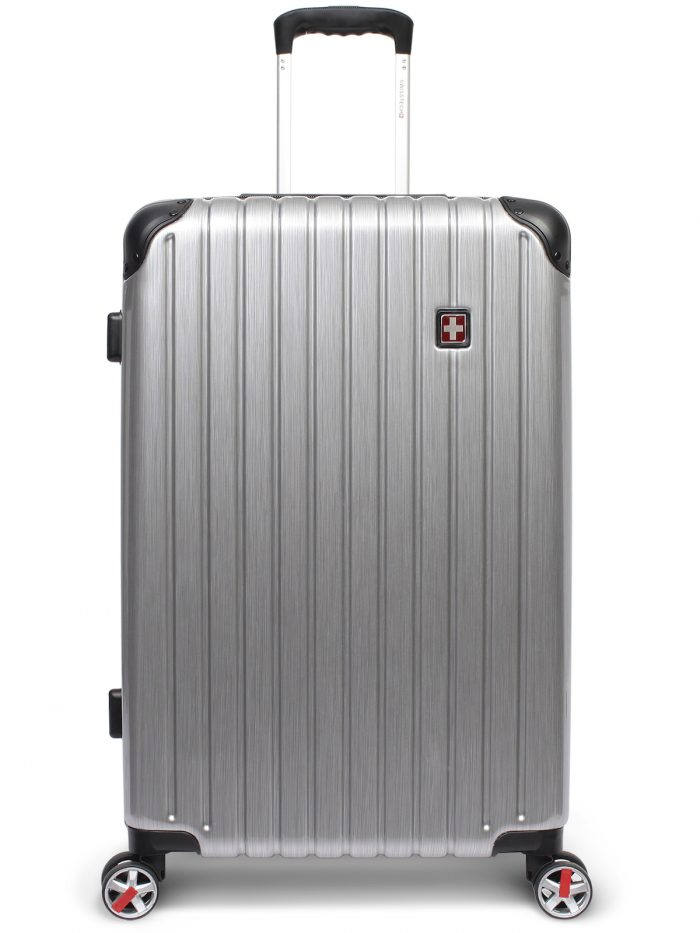 SwissTech Exhibition 30 inches Hard Side Spinner Luggage