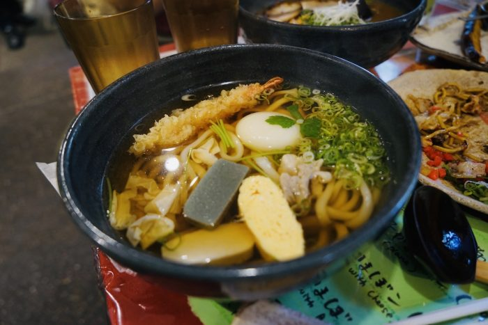 Udon for Lunch