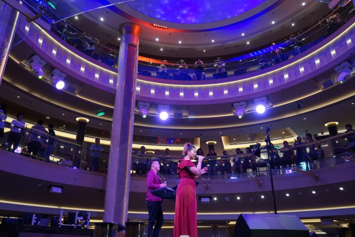 Band Performing Onboard Genting Dream