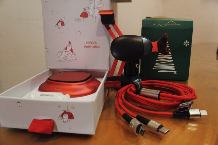 Baseus Christmas Car Accessories Gift Set