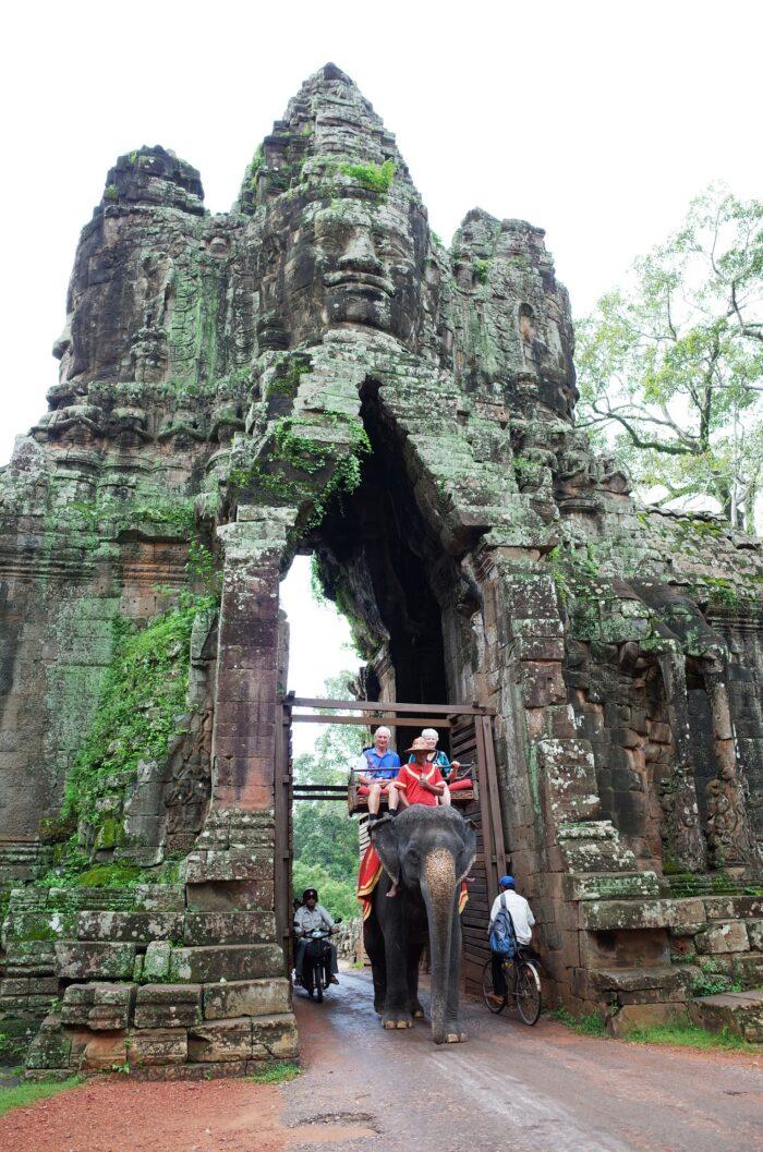 Cambodia is banning elephant rides at Angkor Wat