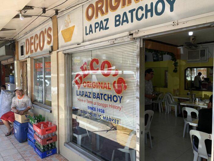 Decos Original La Paz Batchoy in La Paz Market
