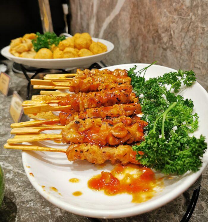 Food at Changi Lounge