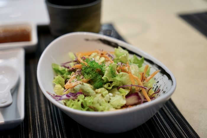Garden Salad with Japanese dressing
