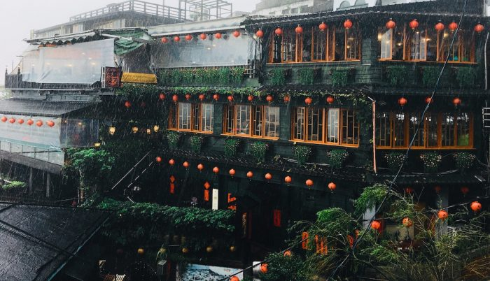 Jiufen, a mountaintop which used to be a former gold mining town on the northeast coast of Taiwan, is one of the most popular day trips from Taipei