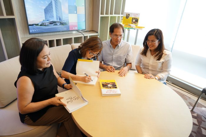 Miss Nina Daza-Puyat and Chef Sandy Daza during the Book Signing event