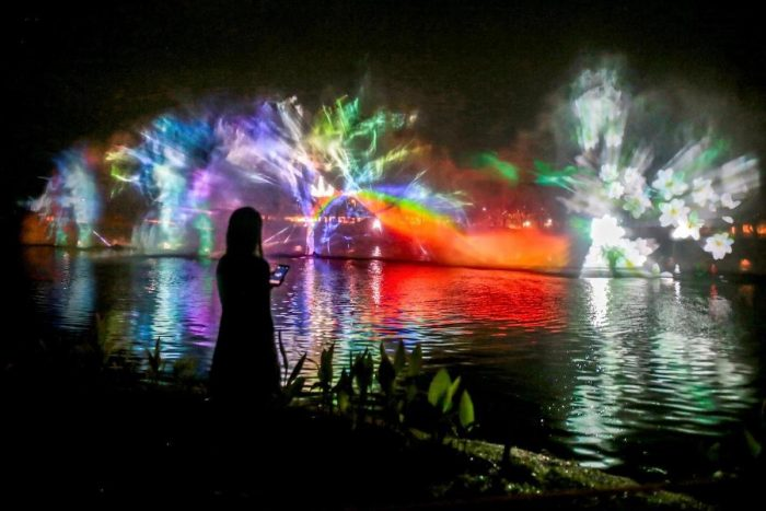 Nuvali Interactive Water Show