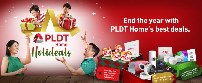 PLDT Home Offers Biggest Holiday Sale