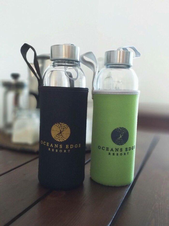 Refillable Glass Water Bottles
