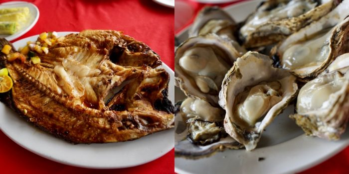 Sinugba nga Managat and Grilled Oyster