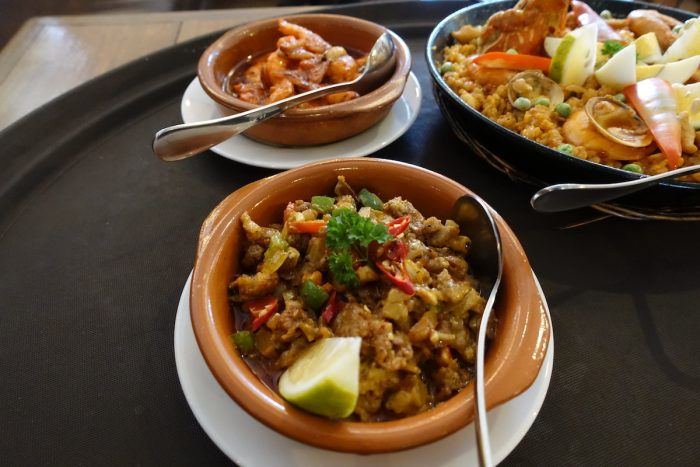 Spanish Sisig