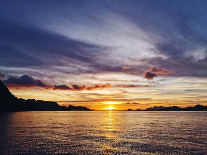 Sunset in Coron Palawan