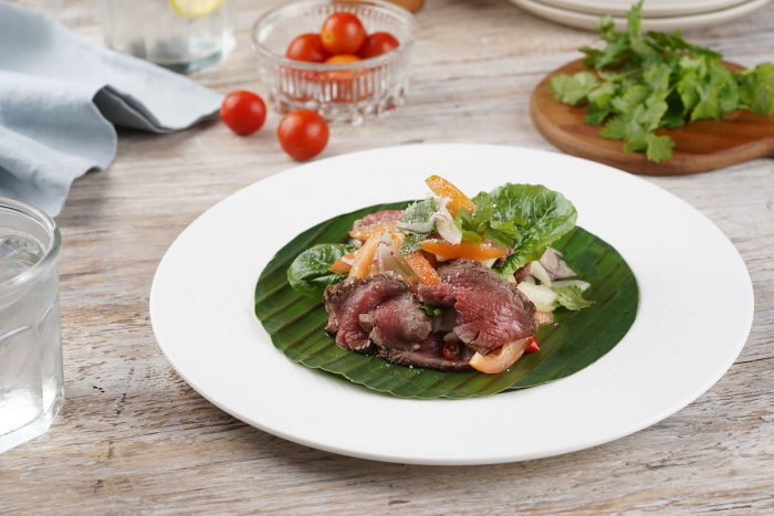 Thai Hot and Sour Beef Salad