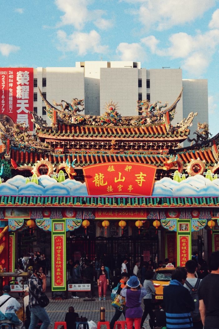 The Longshan Temple was built in 1738 by settlers from Fujian as a gathering place for Chinese settlers. It is also the most famous temple in Wanhua District