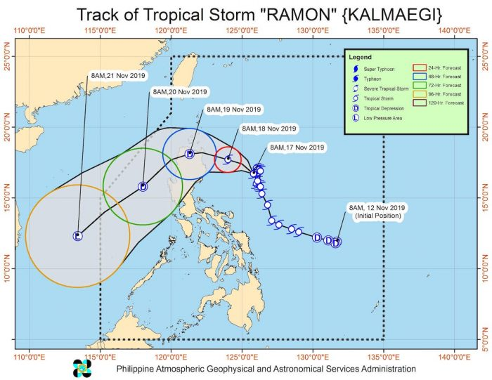 Tropical Storm Ramon Walang Pasok Updates