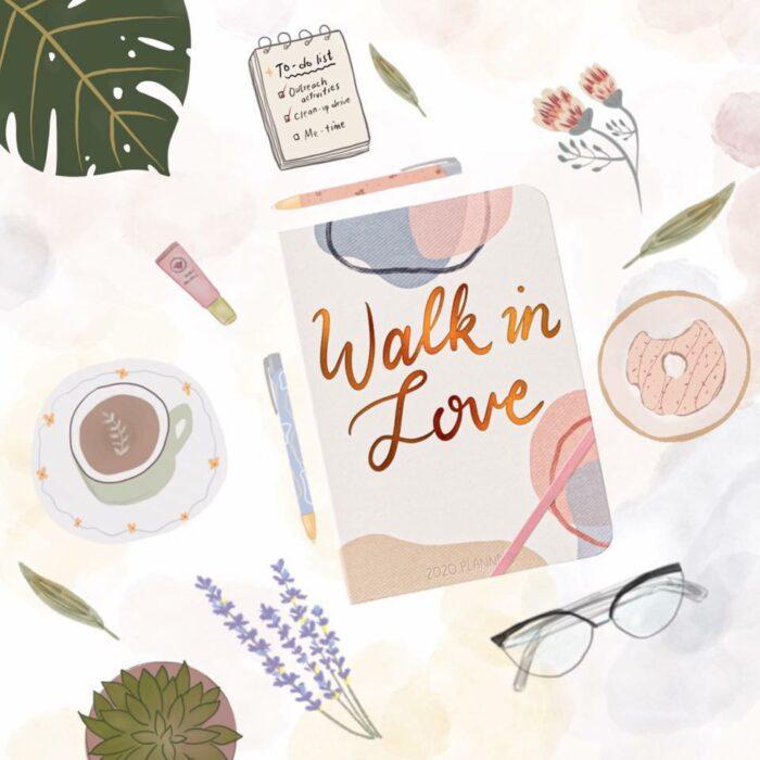 Walk In Love 2020 Planner