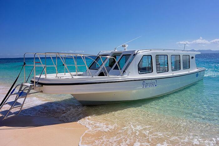 boat transfer Club Paradise Palawan