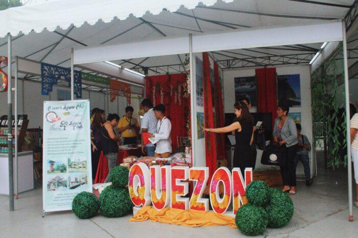 CALABARZON Travel Expo Quezon Booth