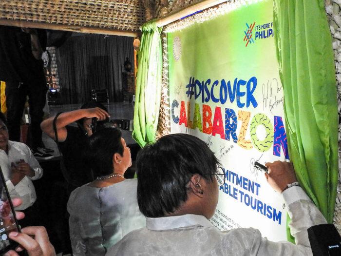 #DiscoverCALABARZON Launch in Santa Rosa Laguna