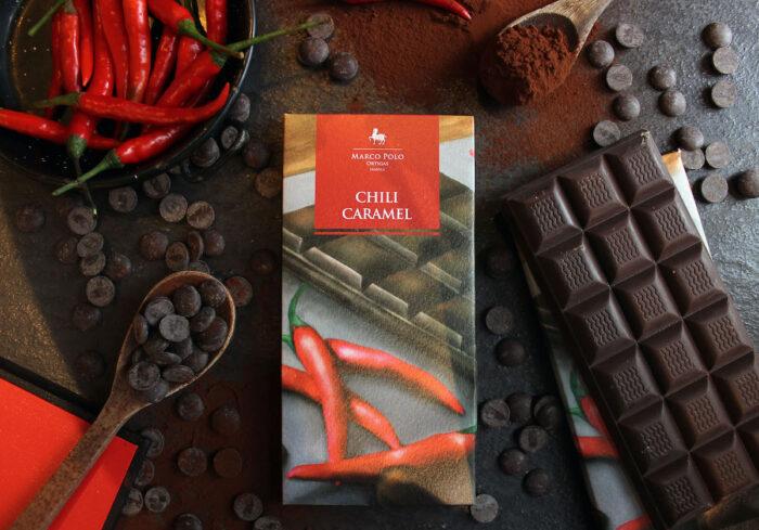 Golden Crunch Chili Caramel