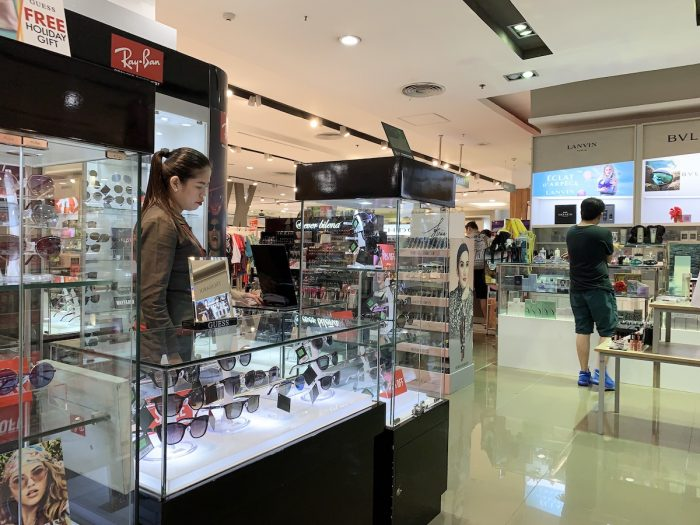 Inside Robinsons Department Store