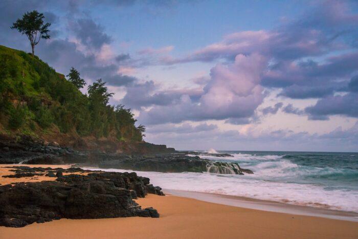 Kalihiwai Beach photo by @gkumar2175 via Unsplash