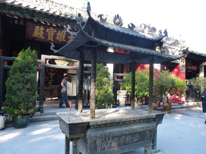 Kun Iam Temple by Marius Hoch via Wikipedia CC