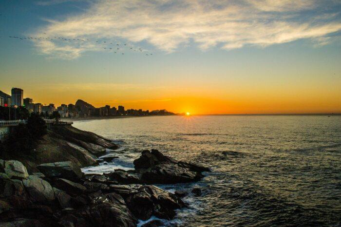Leblon Sunrise Rio de Janeiro