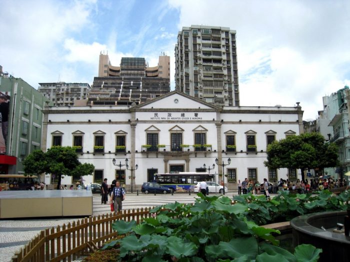 Macao Edificio do Leal Senado by WiNG via Wikipedia CC