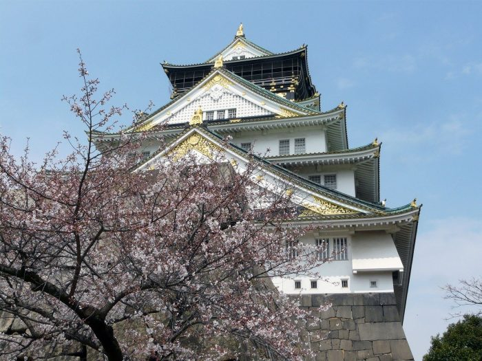 Osaka Castle Cherry Blossoms
