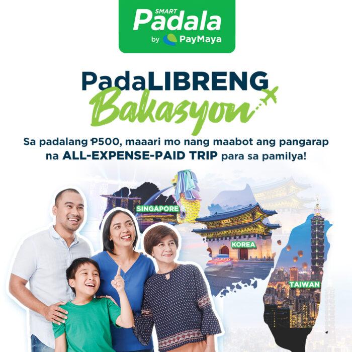 Padalibreng Bakasyon by Smart and PayMaya