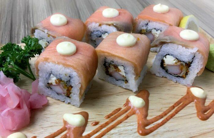 Philadelphia Roll - Special Tempura Rolled in Smoked Salmon