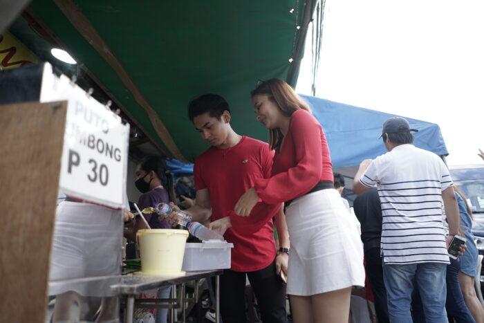 Puto Bumbong in Kawit Cavite