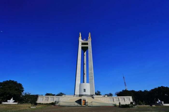 QC Memorial Circle by MikeLagaan Via Wikipedia CC
