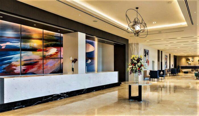 Savoy Hotel Manila lobby