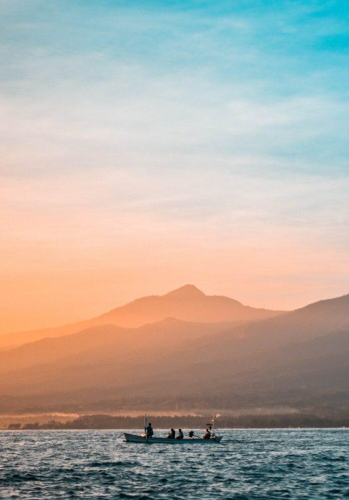 Sunset in Singaraja Bali Indonesia photo by @kenfeb78 via Usplash