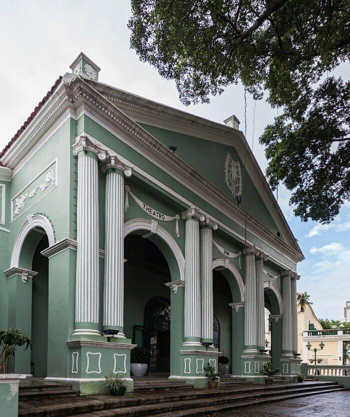 The Dom Pedro V Theatre by Diego Delso via Wikimedia CC