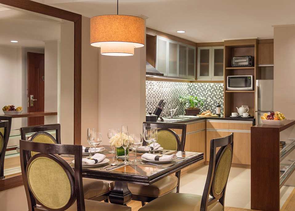2 BR Suite Kitchen