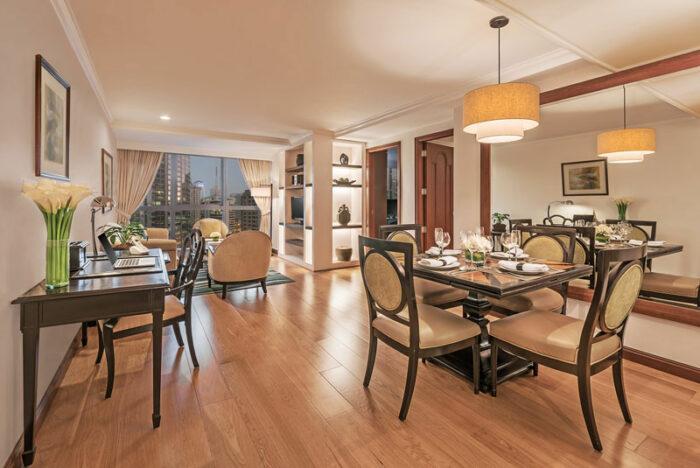 2 BR Suite Living Area