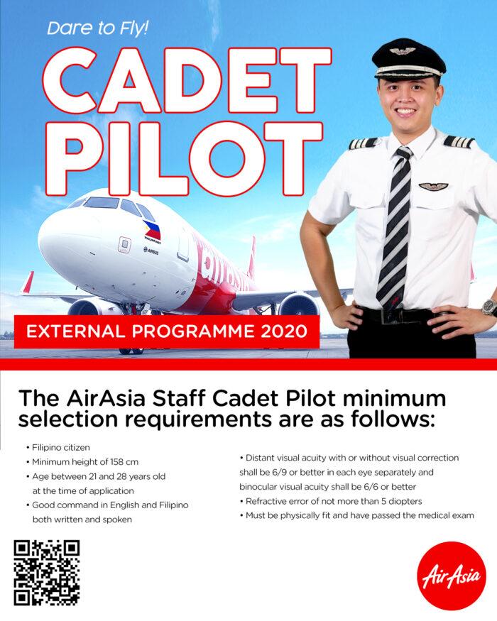 Dare to Fly Allstars Cadet Pilot Program by AirAsia