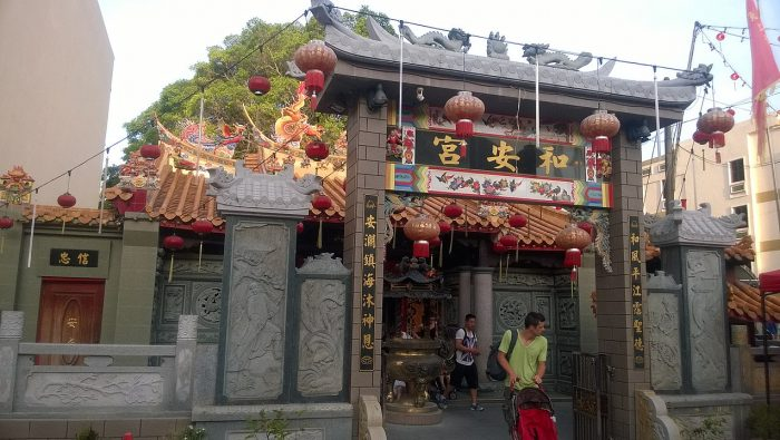 Ho Ann Kiong Temple by Fikku fiq via Wikipedia CC