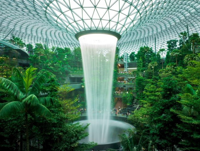 Inside the New Jewel Changi Airport in Singapore by @theandrewteoh via Unsplash