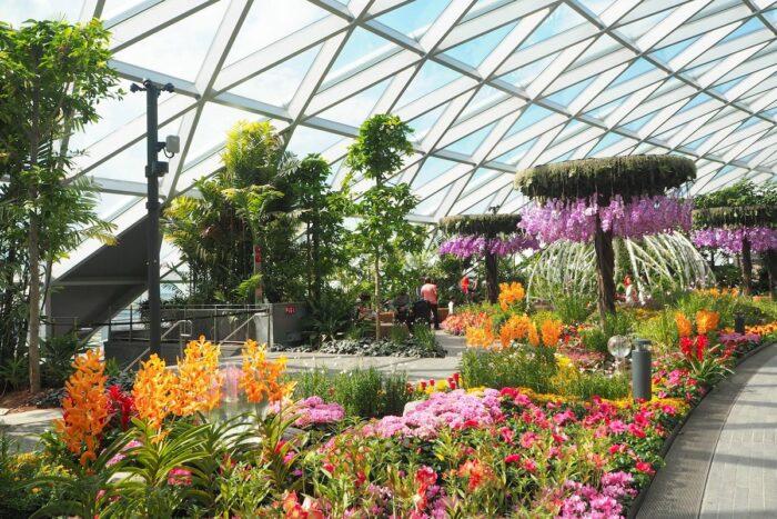 Jewel Changi Airport Petal Garden