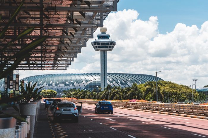 Jewel Changi is connected to all Changi Airport Terminals photo by @shawnanggg via Unsplash
