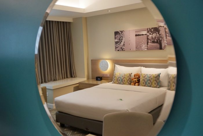 My room at Citadines Cebu City