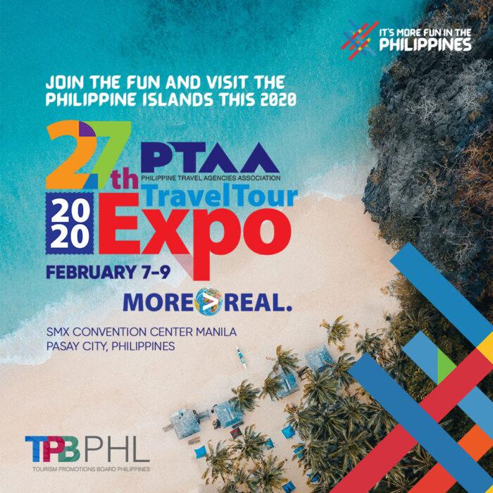 PTAA Philippine TravelTour Expo 2020