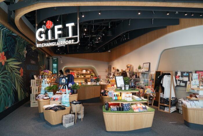 Souvenir Shops inside Jewel Changi